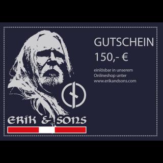Hochglanz-Gutschein 150 €