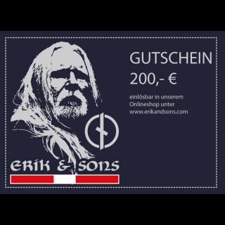 Hochglanz-Gutschein 200 €