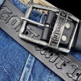 Leather belt KC