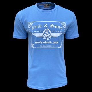 T-Shirt BALLS blau