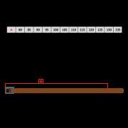 Lederguertel HAMMER schwarz