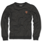 knit pullover Vinteris - black