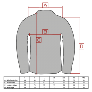 Langarmhemd MALTE